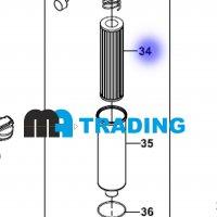 F28/51001 Фильтр гидравлический для HIDROMEK
