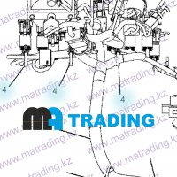 206-1345 STRAP-CABLE CAT
