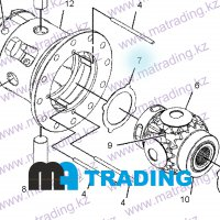 231-0695 WASHER-THRUST CATERPILLAR